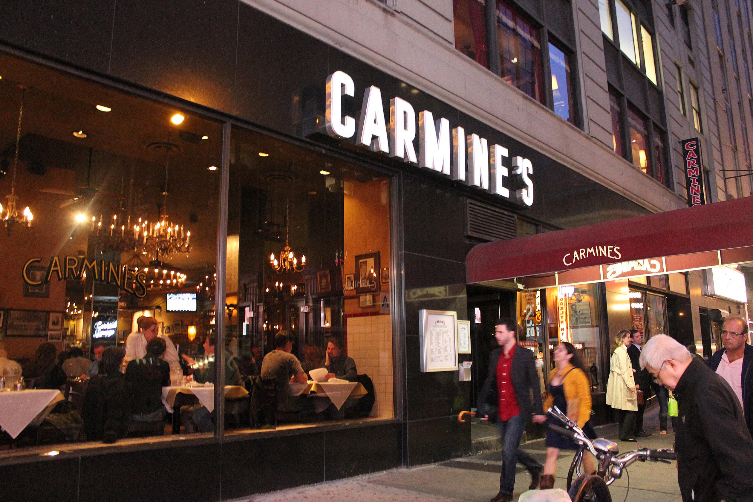 carmine s new york ny